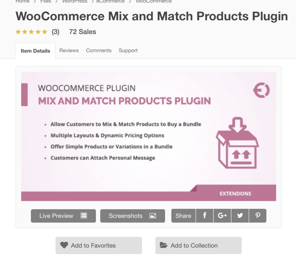 WooCommerce Mix & Match, Mix And Match Products Example, Assortment Planning Tools