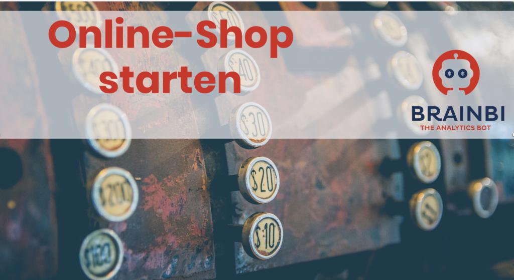 Online-Shop starten