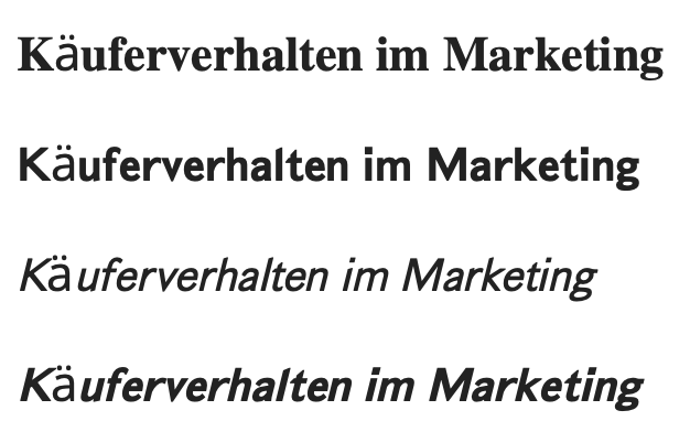 Käuferverhalten im Marketing