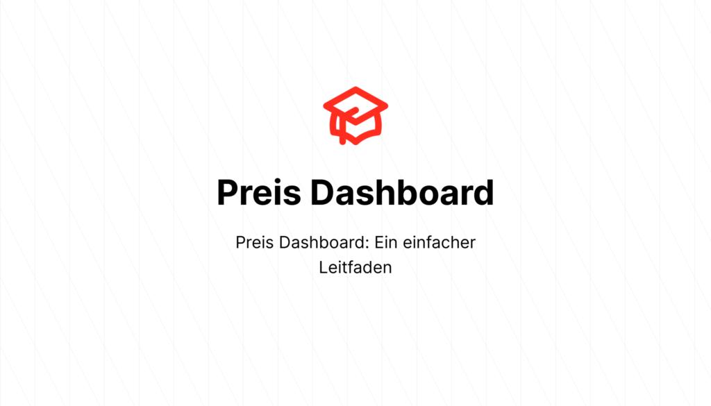 Preis Dashboard